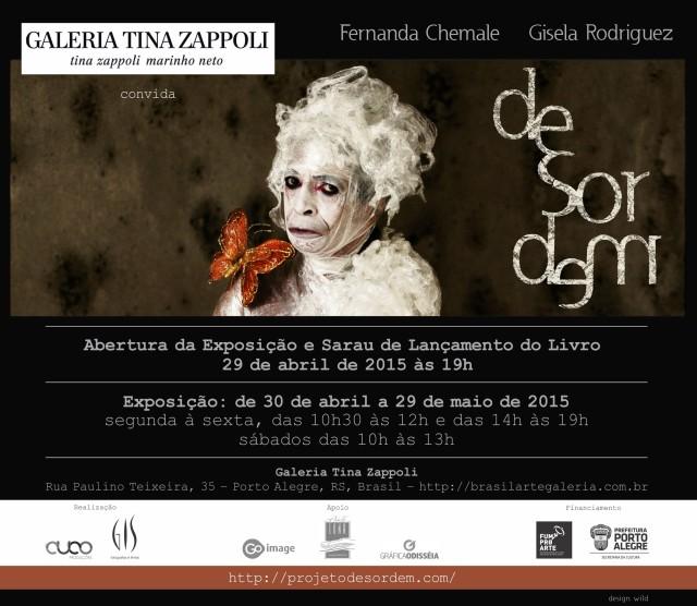 Desordem_convite Galeria Tina Zappoli